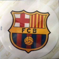 Torta ostya - FC Barcelona 12.