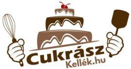 Torta és sütemény tálaló 2 szintes