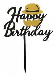 "Torta beszúró "" Happy Birthday"" - 03."