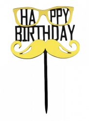 "Torta beszúró "" Happy Birthday"" - 01."