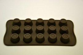 szilikon csoki öntőforma - Bon-bon