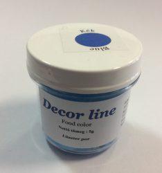 Lüszter por DecorLine 5g - Kék