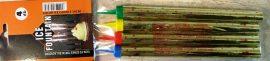Tűzijáték 18cm-es színes (4db)