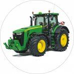 Torta ostya - Zöld traktor 105.