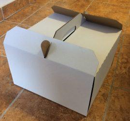 Torta doboz 29cm-es