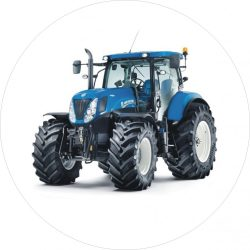 Torta ostya - Kék traktor 11.