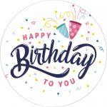 Torta ostya - Happy Birthday 141.