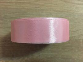 Szatén szalag 2,5cm-es - Rózsaszín