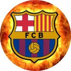 Torta ostya - FC Barcelona 126.