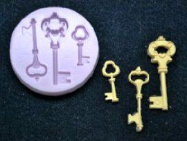 Szilikon forma - Kulcsok