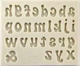 Szilikon forma - Betű (írott)