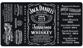 Torta ostya - Jack Daniel's 15.