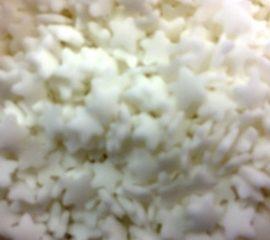 Confetti csillag fehér 50g