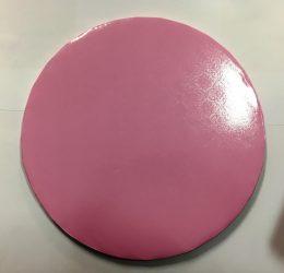 Torta dob 30cm mintás rózsaszín
