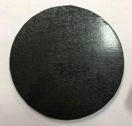 Torta dob 30cm mintás fekete