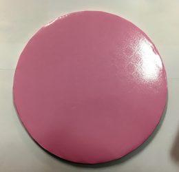 Torta dob 35cm mintás rózsaszín