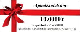 Ajándékutalvány - 10000 forint
