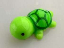 Teknősbéka (mini) műanyag