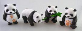 Pandák (mini) műanyag (1db)
