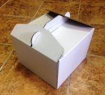 Torta doboz 22cm-es
