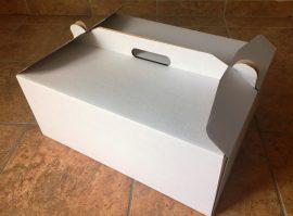 Torta doboz 45*35*19cm füles(csak személyesen vásárolható)