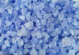 Kandis cukor 100g - Világos kék