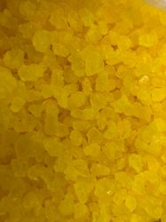 Kandis cukor 100g - Citromsárga
