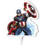 gyertya 2D - Amerika kapitánya