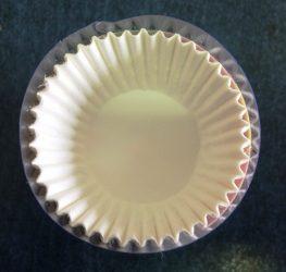 Muffin papír fehér 100db-os kicsi