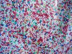Dekor cukorgyöngy 1mm Mix - 100g