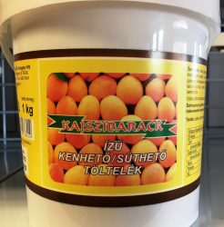Kajszibarack íz süthető,kenhető töltelék 1kg