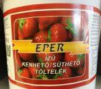 Eper íz süthető,kenhető töltelék 1kg