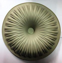 Sütőforma (szilikon) - Bordázott lyukas kerek nagy