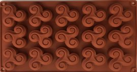 Mousse szilikon forma - Hármas hullám